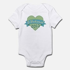 Heart Junior Bridesmaid 2013 Infant Bodysuit