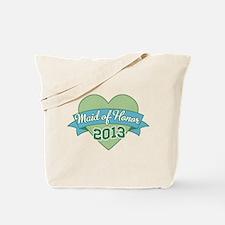Heart Maid of Honor 2013 Tote Bag