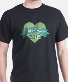 Heart Maid of Honor 2013 T-Shirt