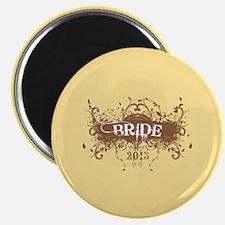 """2013 Grunge Bride 2.25"""" Magnet (10 pack)"""