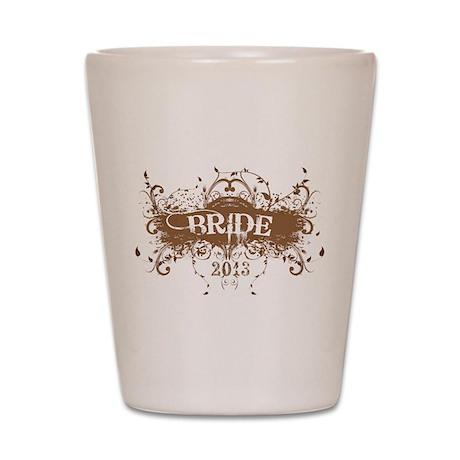 2013 Grunge Bride Shot Glass