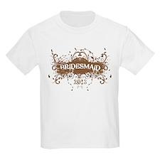2013 Grunge Bridesmaid T-Shirt