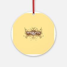 2013 Grunge Bride Brother Ornament (Round)