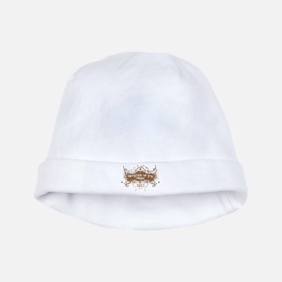 2013 Grunge Bride Brother baby hat
