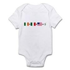 Happy Irish American Infant Bodysuit