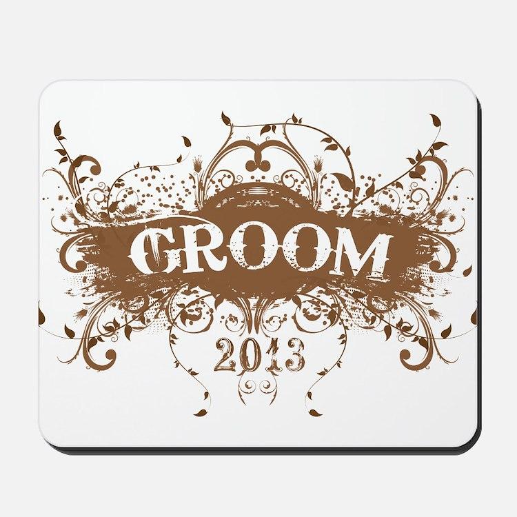 2013 Grunge Groom Mousepad