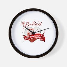 Polish Princess Wall Clock