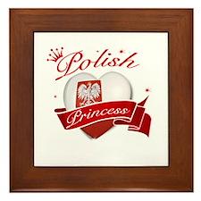 Polish Princess Framed Tile