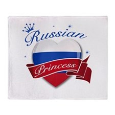 Russian Princess Throw Blanket