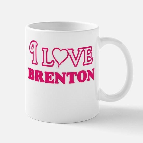 I Love Brenton Mugs