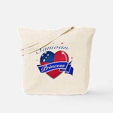 Samoan Princess Tote Bag