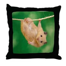 Cute Hamsters Throw Pillow