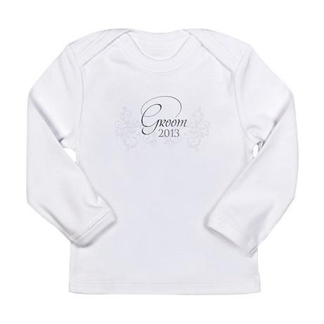 Fleur Amour 2013 Groom Long Sleeve Infant T-Shirt