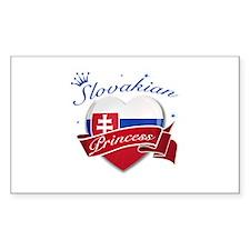 Slovakian Princess Decal