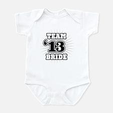 B&W Emblem Star Bride 12 Infant Bodysuit