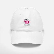 Navy Fuchsia Emblem Star Groo Baseball Baseball Cap