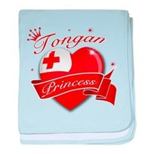 Tongan Princess baby blanket