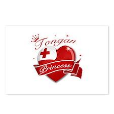 Tongan Princess Postcards (Package of 8)