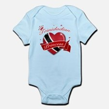 Trinidadian Princess Infant Bodysuit