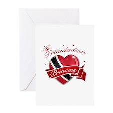 Trinidadian Princess Greeting Card