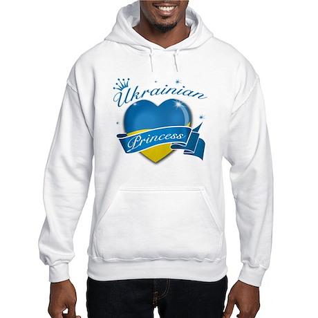 Ukrainian Princess Hooded Sweatshirt