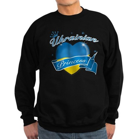 Ukrainian Princess Sweatshirt (dark)