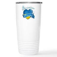Ukrainian Princess Travel Mug