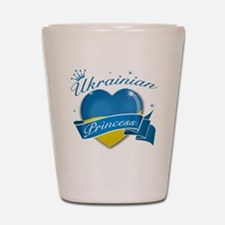 Ukrainian Princess Shot Glass
