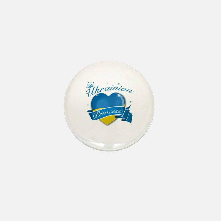 Ukrainian Princess Mini Button