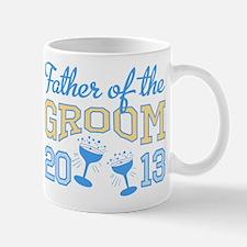 Father Groom Champagne 2013 Mug