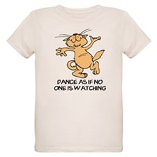 Dancing Cat Organic Kids T-Shirt
