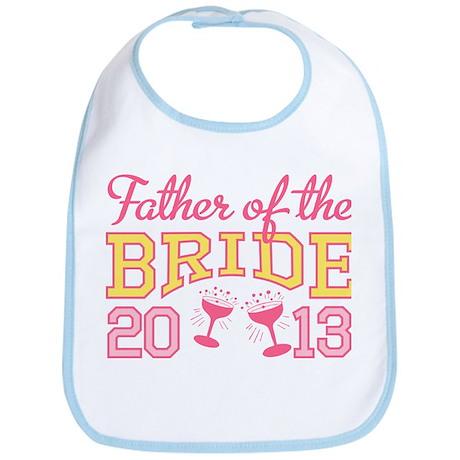 Father Bride Champagne 2013 Bib