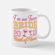 Maid of Honor Champagne 2013 Mug