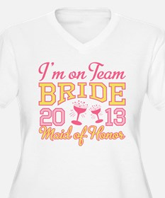 Maid of Honor Champagne 2013 T-Shirt