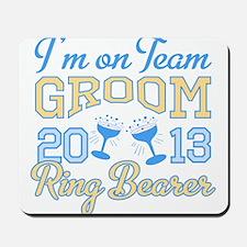 Ring Bearer Champagne 2013 Mousepad