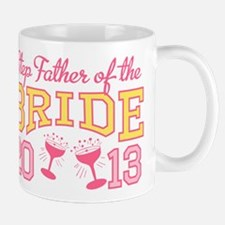 Step-Father Bride Champagne 2 Mug