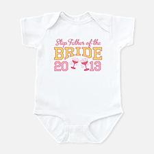 Step-Father Bride Champagne 2 Infant Bodysuit