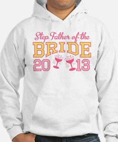 Step-Father Bride Champagne 2 Hoodie