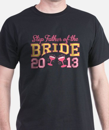 Step-Father Bride Champagne 2 T-Shirt