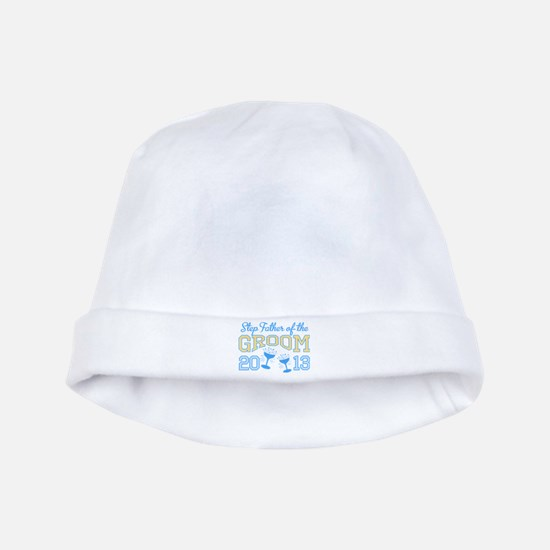 Step-Father Groom Champagne 2 baby hat