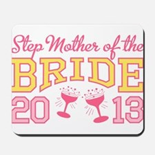 Step-mother Bride Champage 20 Mousepad