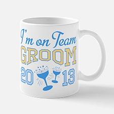 Team Groom Champagne 2013 Mug