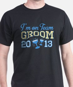 Team Groom Champagne 2013 T-Shirt
