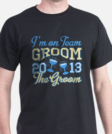 The Groom Champagne 2013 T-Shirt