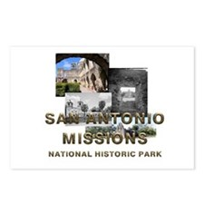 ABH San Antonio Missions Postcards (Package of 8)