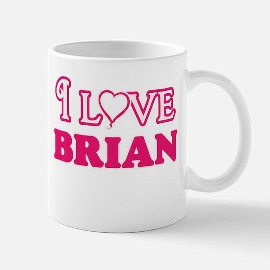 I Love Brian Mugs
