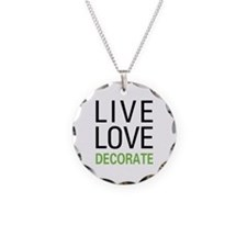 Live Love Decorate Necklace
