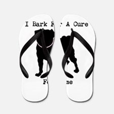 Pug Personalizable Bark For A Flip Flops
