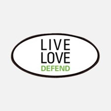 Live Love Defend Patches
