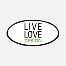 Live Love Design Patches